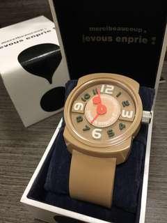 85%New購自日本mercibeaucoup手錶 ; 全齊 有出世紙 帶過五次以下