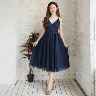 Tulle scarllet premium dress