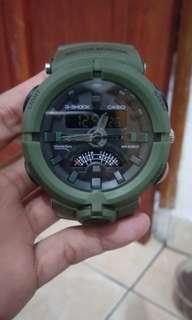 Casio G-Shock Green Army D-3821