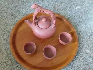 Teapot from Clay