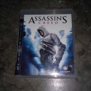 Ps3 game assasin creed