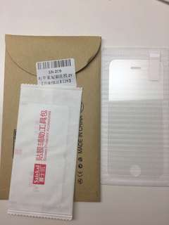 100% New iPhone 5/5s 玻璃貼膜
