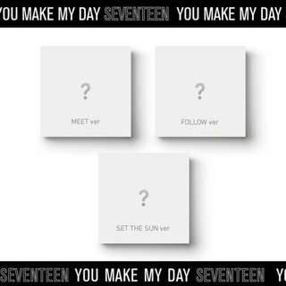 "SEVENTEEN  5th Mini Album  ""YOU MAKE MY DAY"""