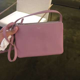 Celine trio bag in pink