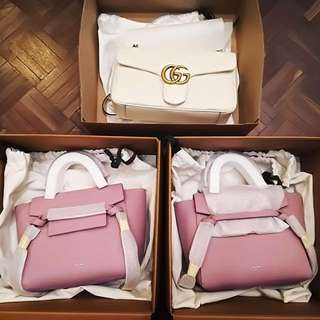 Celine nano belt in pink 現貨香港