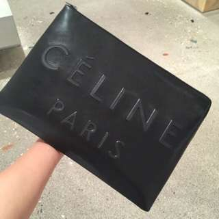 Celine pouch clutch bag