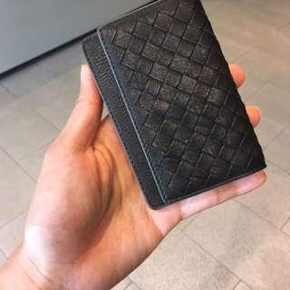 Bottega veneta card holder in black