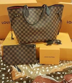 Louis Vuitton Neverfull Damier MM Brand New!