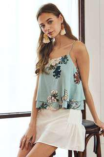 The Closet Lover Naye Floral Top