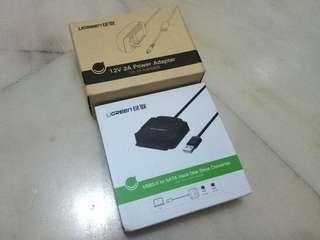 CHEAP BN UGreen USB 2.0 to SATA Hard Disk Connector