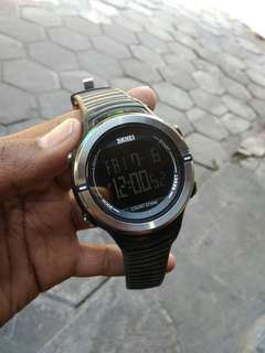 Jam tangan SKMEI countdown original
