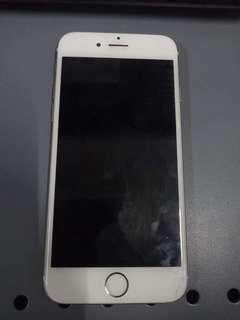 Iphone 6 gold 64 gb globe lock