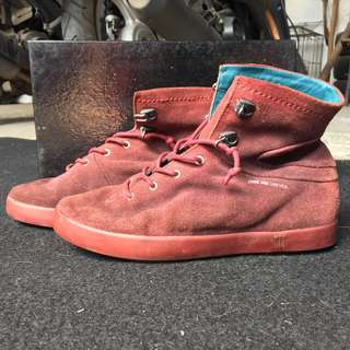 SOME ARE THIEVES bordeaux boots