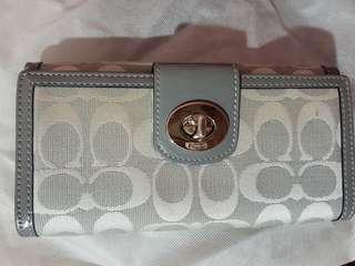 Coach long wallet original