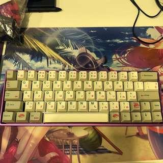 XD64 78g Zealio Keyboard