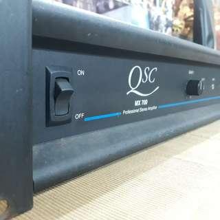 Amplifier Power QSC 700