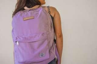 Herschel Purple Backpack