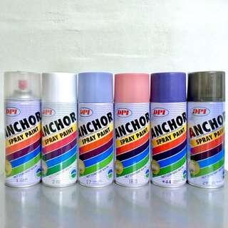 Purple Anchor Spray Paint