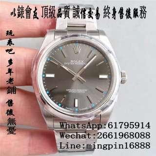 玩表吧 免訂面交 勞力士 Rolex 114300-70400 39mm 深灰盤 藍寶石 JF 出品