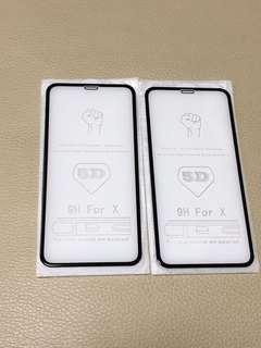 清倉!IPhone X 5D鋼化膜連背貼
