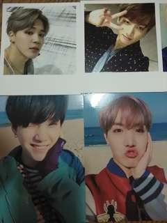 BTS防彈少年團 YF 花樣年華 WINGS 專卡