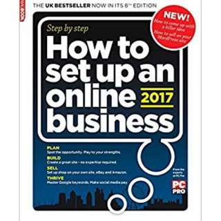 How To Set Up An Online Business 2017