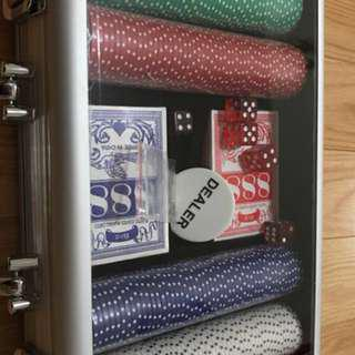 Poker set luggage