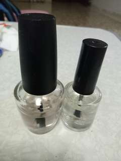 Base boat top coat cuticle oil (normal polish)