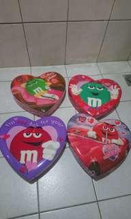 M&M's愛心盒