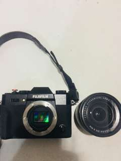 Kamera Fujifilm XT-10 16-50mm Mirrorless Black Second