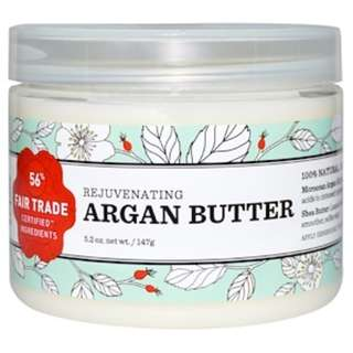 Nourish Organic, Rejuvenating Argan Butter, 5.2 oz (147 g)