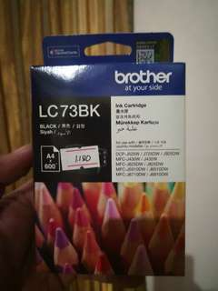 Brother LC73BK ink cartridge