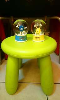 全新M&M's水晶球