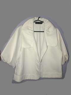 Classy white bolero jacket