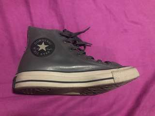 Coated High Top Converse good for any weather!