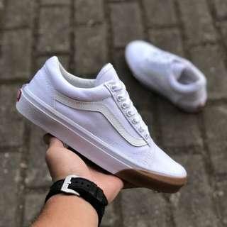 Sepatu Vans Old Skool Gum Bumper BNIB ORIGINAL