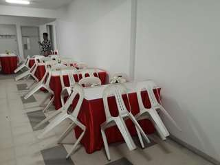 Mini Event Chair N Table Rental With or Without Skirting