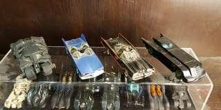 Batmobile Hotwheels and Corgi