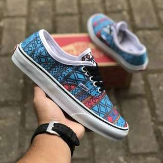 Sepatu Vans Authentic Tribal BNIB ORIGINAL