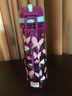Smiggle Purple Water Bottle