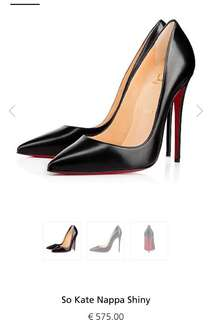 Louboutin So Kate Black 120mm
