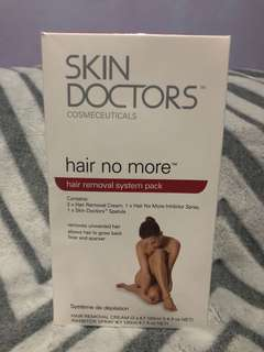 Skin Doctors Hair Removal System