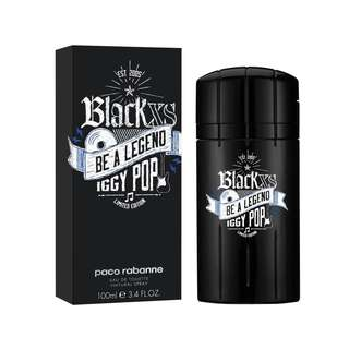 Parfum Original Paco Rabanne Black XS Be A Legend Iggy Pop
