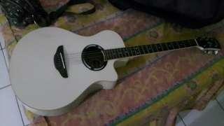 Bismillah..jual santai gitar acoustic electric Yamaha APX 500II ORI.