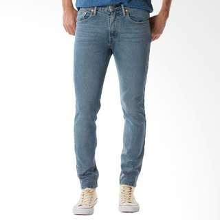 Celana Jeans Pria Levi's 512™ Slim Taper Fit Jeans - Hail Hail Blue 28833-0160 512 Original Levi's (Produk 100% Baru bukan Preloved)
