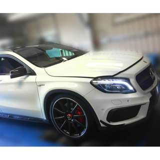 Mercedes Benz GLA45 AMG 2.0 (A) Panaromic Roof