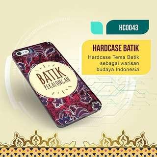 Case Custom Premium Exclusive Batik Indonesia