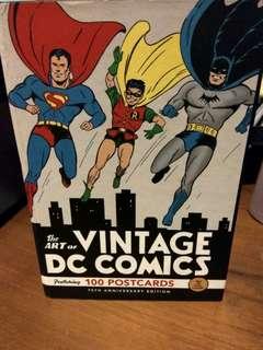 Vintage DC Comics Cover Postcards