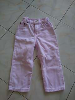 Levis Girl Pink Jeans