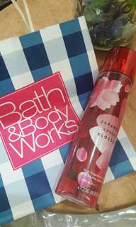 (incl post) Bath & Body works cherry blossom